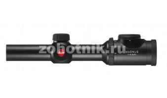 Leica Magnus 1-6.3x24 на шине Zeiss, с подсветкой