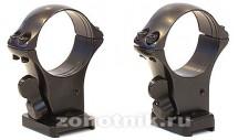 Быстросъемный кронштейн MAK на раздельных основаниях Browning Bar II / Benelli Argo на 30 мм 5252-30003