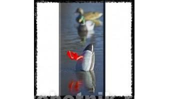 Надувное чучело ныряющей утки-селезня с вибратором Cherokee-Sports