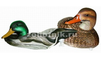 Комплект из 6 надувных чучел кряквы Fusion Series MF970b