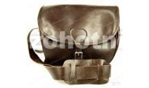 Охотничья кожаная сумка (ягдташ) 603