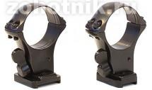 Быстросъемный кронштейн на раздельных основаниях Remington 7400 кольца 30 мм