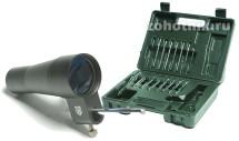 Холодная оптическая пристрелка Nikko Stirling 16 ствольных вставок - от 4,5 мм до 12 кал.