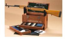 Набор-подставка для чистки оружия универсальный 63 предмета