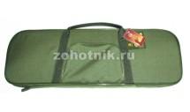 Мягкий чехол-сумка VEKTOR К-11к под двуствольное оружие в разборе, 83 см, цвет защитный