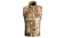 Жилет-безрукавка с воротником-стойкой KRATOS MINUS от KRYPTEK, камуфляжная расцветка highlander