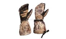 Длинные перчатки AEGIS EXTREME от KRYPTEK с кожаными вставками, камуфляжная расцветка highlander