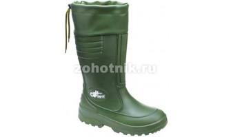Резиновые сапоги NEW TRAYK-S FUR от DEMAR для охоты или рыбалки со съёмным носком, расцветка защитная