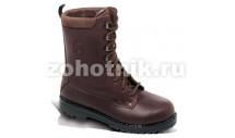 Мужские кожаные ботинки для охоты TUNDRA от GRONELL, расцветка коричневая