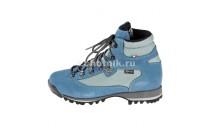 Кожаные трекинговые ботинки THORN от GRONELL, расцветка сине-голубая
