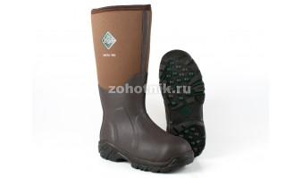 Зимние мужские резиновые сапоги Arctic Pro от MuckBoot для охоты или рыбалки, модель ACP-998K, расцветка коричневая