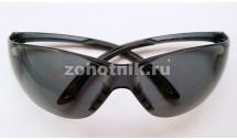 Тактические защитные очки для стрельбы от STALKER, расцветка чёрная, пропускаемость света 25%