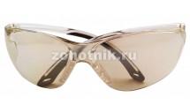 Тактические защитные очки для стрельбы от STALKER, расцветка серо-зеркальная, пропускаемость света 75%
