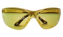 Тактические защитные очки для стрельбы от STALKER, расцветка жёлтая, пропускаемость света 85%