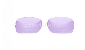 Сменные линзы XLW для тактических очков, расцветка светло-фиолетовая, ширина линз 72 мм, светопропускание 61,67%