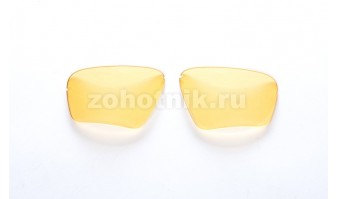 Сменные линзы EDGE для тактических очков, расцветка средне-жёлтая, ширина линз 67 мм, светопропускание 83,69%