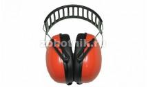Сверхлёгкие складные наушники для стрельбы Arton от ARTILUX с металлическим ободом, расцветка красная, 23дБ