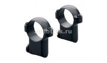 Стальные быстросъёмные кольца среднего профиля на Sako от Leupold, диаметр 26 мм, высота 15 мм