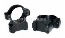 Стальные кольца высокого профиля на CZ 550 от Leupold, диаметр 30 мм, высота 27.9 мм