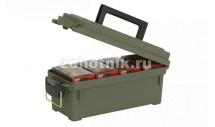 Набор из ящика для хранения и переноски принадлежностей и подставки для чистки оружия от Plano, XL (56 см)
