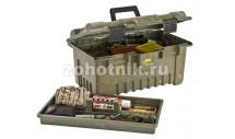 Водозащитный ящик-короб с ручкой от Plano для охотничьих принадлежностей и патронов с дополнительным вынимаемым лотком