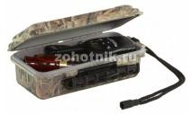 Поликарбонатный бокс-ящик с ручкой от Plano для охотничьих принадлежностей, 16 см, расцветка древесная