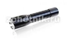 Фонарь светодиодный myTorch 18650 от NexTORCH с USB-разъёмом, 200 LM, длина 156 мм, сменные режимы, расцветка чёрная