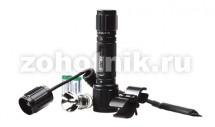 Набор: подствольный светодиодный фонарь T6L от NexTORCH на 320 LM с выносной кнопкой + кронштейн + запасная лампа