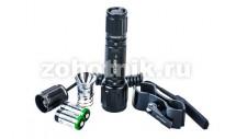 Набор: подствольный светодиодный фонарь T6G от NexTORCH на 350LM с выносной кнопкой + кронштейн + запасная лампа на 200LM