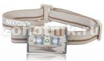 Фонарь налобный LIGHT STAR от NexTORCH, до 200 LM, 4 режима, расцветка чёрная