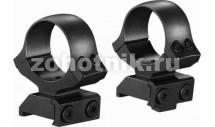 Стальные раздельные кольца Classic на CZ550 от KOZAP, диаметр 30 мм (No.12)