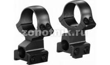 Стальные раздельные кольца Classic с окном визира на CZ550 от KOZAP, диаметр 33 мм (No.12)