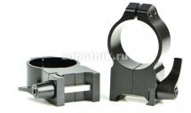 Быстросъёмные кольца крепления 216LM повышенного профиля от Warne, 30 мм, Weaver/Picatinny