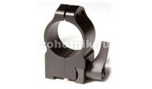 Быстросъёмные кольца крепления QD 2TLM высокого профиля от Warne, 25.4 мм, TIKKA