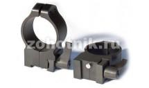 Быстросъёмные кольца крепления QD 15TLM высокого профиля от Warne, 30 мм, TIKKA