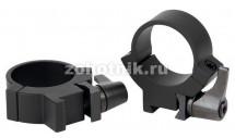 """Поворотные кольца крепления 7.3/22 среднего профиля 721M от Warne, 25.4 мм (1""""), """"ласточкин хвост"""""""