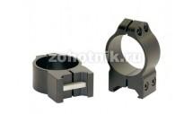 Быстросъёмные кольца крепления 213M низкого профиля от Warne, 30 мм, Weaver/Picatinny
