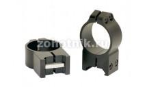 Быстросъёмные кольца крепления 214M среднего профиля от Warne, 30 мм, Weaver/Picatinny