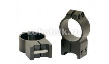 Быстросъёмные кольца крепления 215M высокого профиля от Warne, 30 мм, Weaver/Picatinny