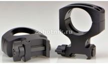 Быстросъёмные кольца крепления TACTICAL QD MSR A417LM повышенного профиля от Warne, 30 мм, Weaver/Picatinny