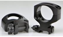 Быстросъёмные кольца крепления TACTICAL QD MSR A424LM повышенного профиля от Warne, 34 мм, Weaver/Picatinny