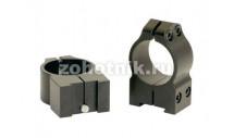 """Небыстросъёмные кольца крепления 1TM среднего профиля от Warne, 25.4 мм (1""""), TIKKA"""