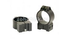 Небыстросъёмные кольца крепления 14TM среднего профиля от Warne, 30 мм, TIKKA