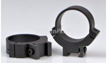 Быстросъёмные кольца крепления 7.3/.22 731M среднего профиля от Warne, 30 мм, LM призма