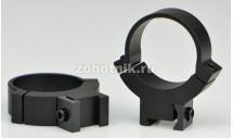 Быстросъёмные кольца крепления 7.3/.22 732M высокого профиля от Warne, 30 мм, LM призма