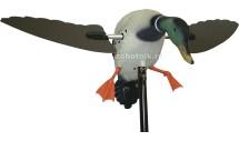 Механическое чучело утки-кряквы Super Mallard от Mojo, складные крылья