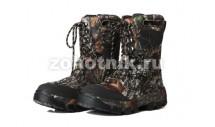 Мужские мембранные ботинки модель 702на шнуровке от North Way расцветка коричнево-лесная