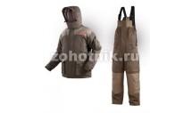"""Зимний мембранный костюм """"Командор"""" с магнитными застежками от North Way для бесшумной охоты"""
