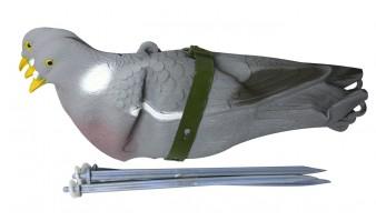 Чучело голубя Sport Plast 726-SET сминаемое на ножке