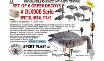 Белолобый гусь DLX 940 Sport Plast комплект 6 шт.